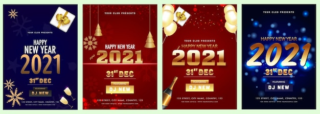 2021 new year celebration invitation