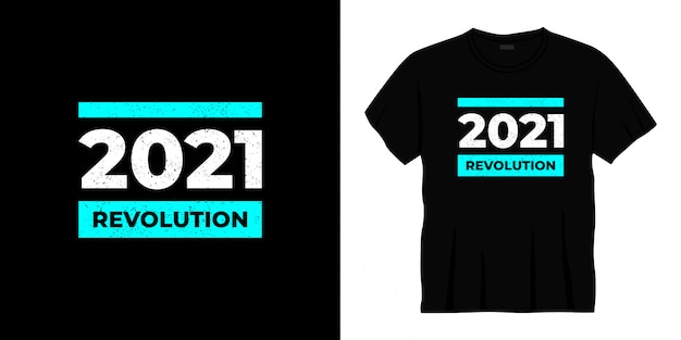 Революция 2021 года типографика дизайн футболки