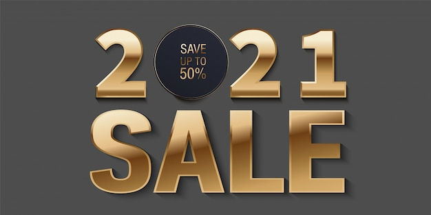 2021 sales. new year sale banner design set with sale promotional text.