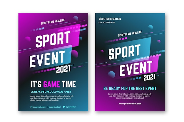 2021 sporting event poster