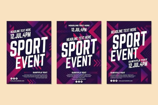 2021 년 스포츠 이벤트 무료 벡터