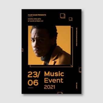 Афиша музыкального события 2021 года