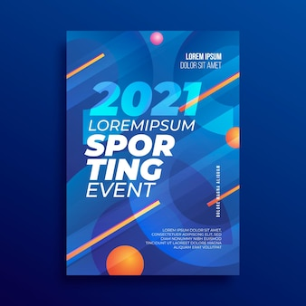 2021スポーツイベントポスター