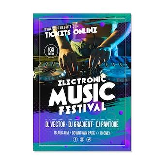 音楽イベントポスター2021
