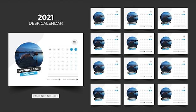 卓上カレンダー、卓上カレンダー2021