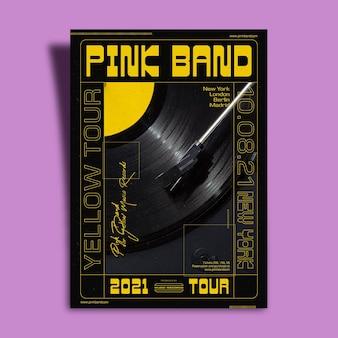 ダーク2021音楽イベントポスター