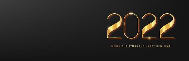 Biglietto di auguri di felice anno nuovo 2022