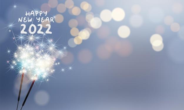 2022 новый год абстрактный фон с фейерверком