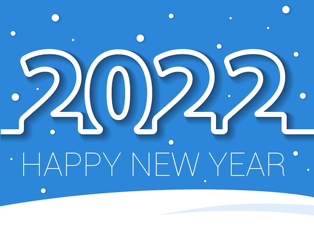 2022 new year banner
