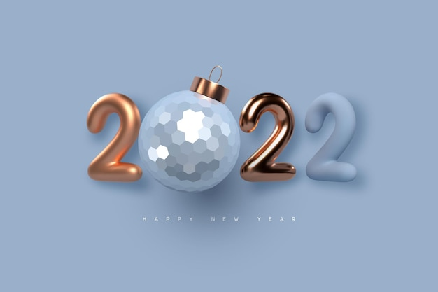Новогодний знак 2022 года.