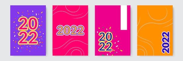 2022 템플릿 디자인 강력한 타이포그래피 화려하고 기억하기 쉬운 브랜딩 프레젠테이션용 디자인...