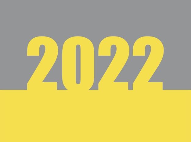 2022 text design for brochure design template card banner vector illustration