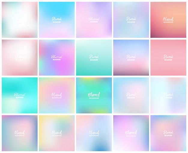 20 размытых абстрактного фона