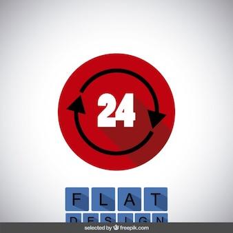24のアイコン