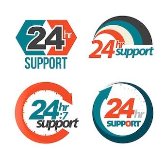 24hr 7day support set