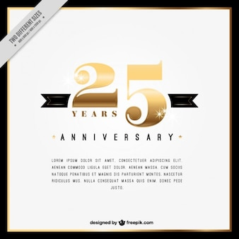 第25周年innvitation
