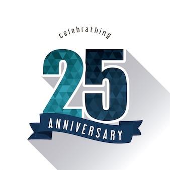 25 year celebrating anniversary