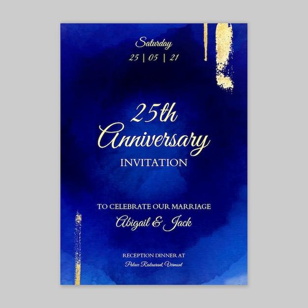 25 years anniversary card