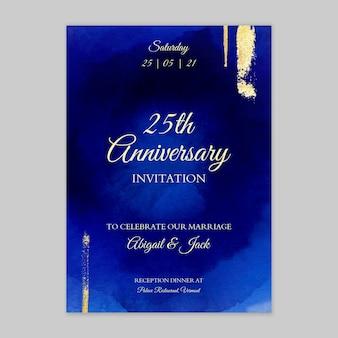 Юбилейная открытка 25 лет