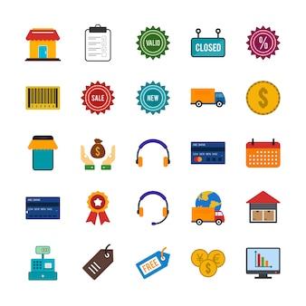 25 иконок электронной коммерции