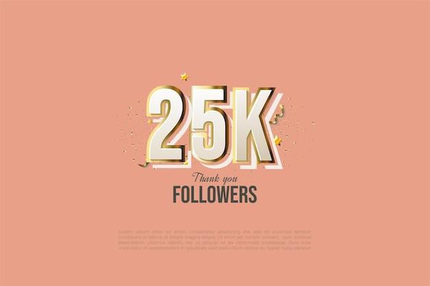 25 тысяч подписчиков с линиями граффити и современным дизайном.