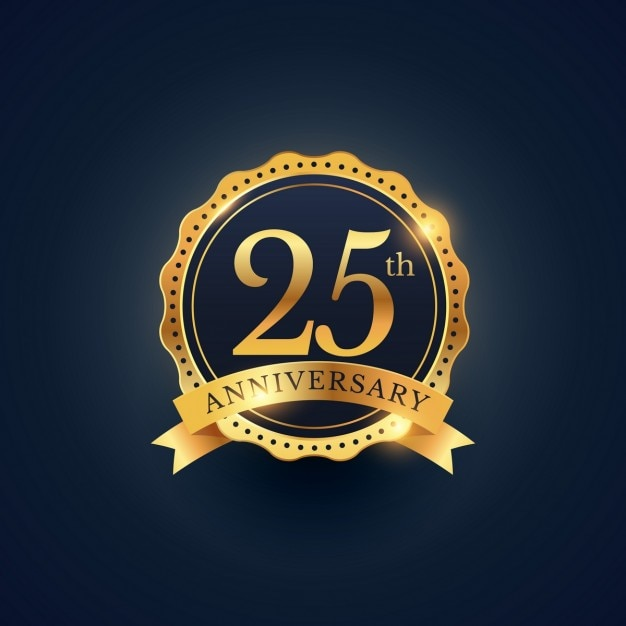 25 anniversary vectors photos and psd files free download rh freepik com 25th anniversary logo vector free download 25 anniversary logo vector free download