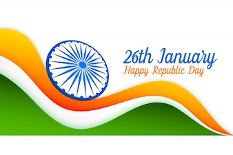 26th january indian flag design for republic day