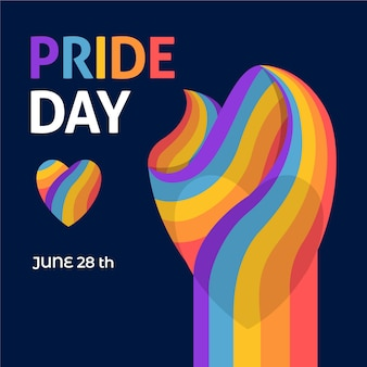 28th june pride day flag