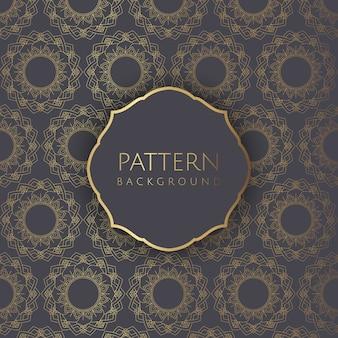 装飾的なパターンの背景2