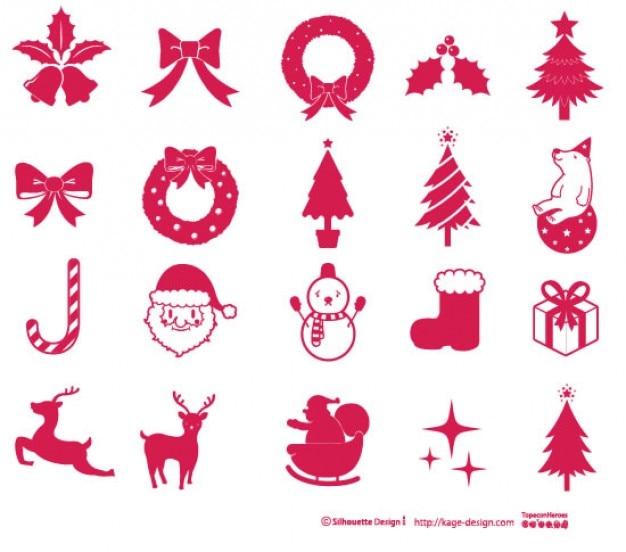 Рождественские элементы 2