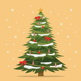 2d christmas tree template