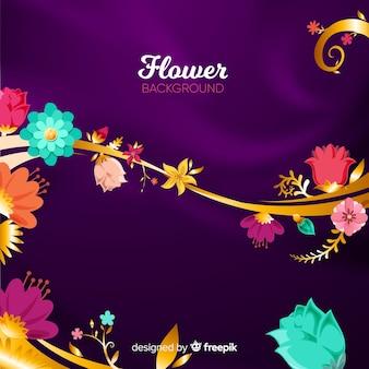 2 dの花の背景