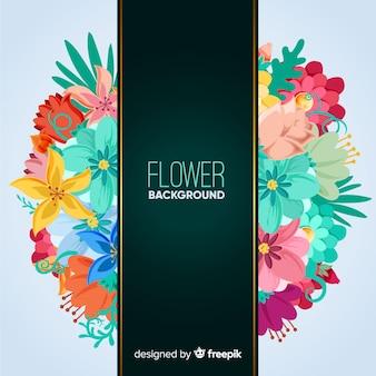 2d floral background