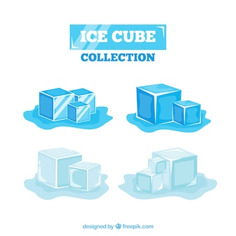2d ice cube collection