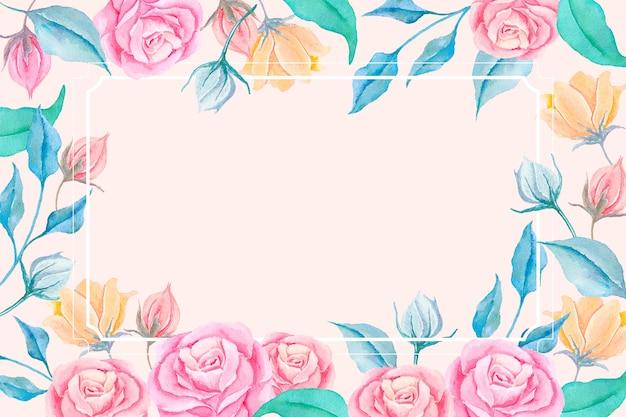 2d винтажные цветы обои