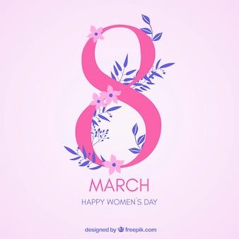 幸せな女性の日の3月3日