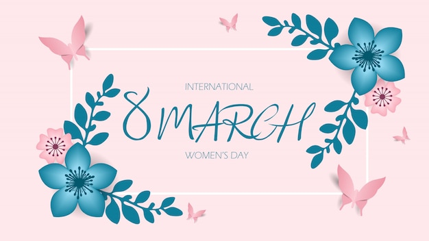 3月8日、国際女性の日、母の日おめでとう。