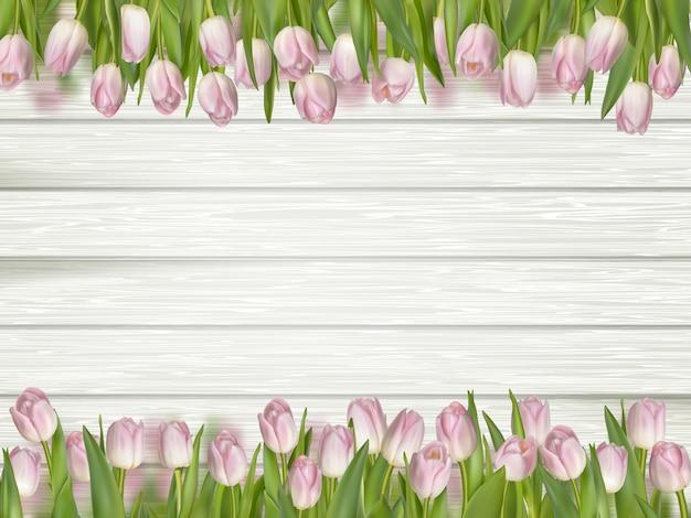 3月8日女性の日グリーティングカード。