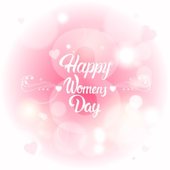 3月8日国際女性の日グリーティングカード