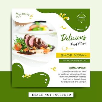 3 banner food menu
