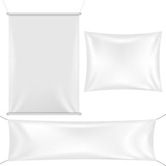 3空白のテンプレートバナー