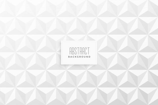 抽象的な3 dの三角形パターンの背景