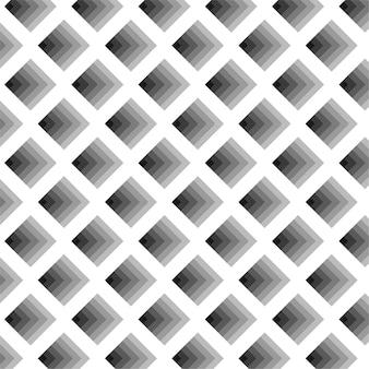 クールな3 dタイルキューブ穴黒シームレスな幾何学的な背景パターン
