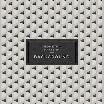 幾何学的な背景パターン3 d黒と白