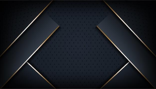 幾何学的背景テンプレートの抽象的なモダンでダイナミックな3 dスタイル