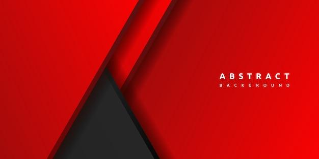 抽象的な3 d赤い背景