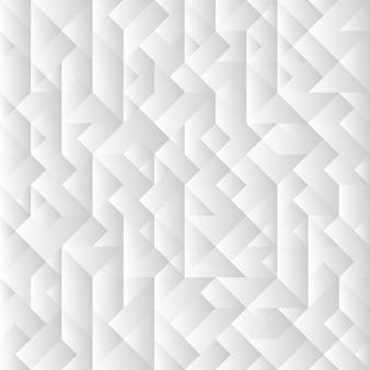 3 dグレーの幾何学的な背景