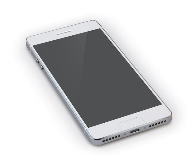 スマートフォンの3 dイラストレーション