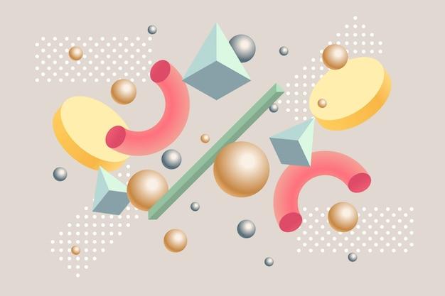 3 dの幾何学的な背景
