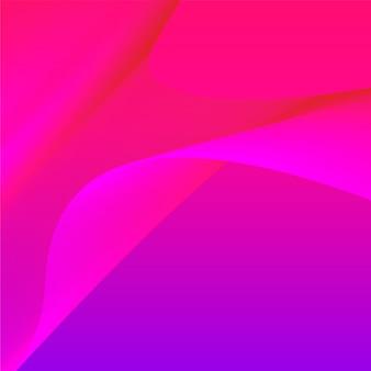 カラフルな鮮やかな3 d波グラフィック